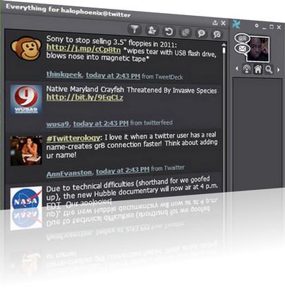 Mixero - интерфейс программы