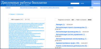 сайт с дипломными работами