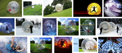 Зорб – это две сферы, расположенные одна в другой
